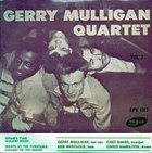 GERRY MULLIGAN The Gerry Mulligan Quartet Vol. 3 album cover